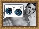 "Мужские серьги - гвоздики ""Cristiano Ronaldo Collection"" by SOHO. The Art Loft"